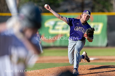 Broughton varsity baseball vs Enloe. March 26, 2019. D4S_5037