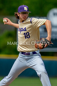 Broughton baseball vs Athens Drive in the Bobby Murray Invitational at Millbrook High School. April 18, 2019. D4S_8513
