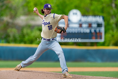 Broughton baseball vs Athens Drive in the Bobby Murray Invitational at Millbrook High School. April 18, 2019. D4S_8520