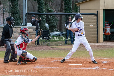 Broughton JV baseball vs Enloe. March 13, 2019. MRC_4210
