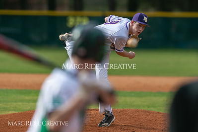 Broughton JV baseball vs Enloe. March 13, 2019. D4S_6873