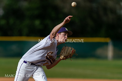 Broughton JV baseball vs Enloe. March 13, 2019. D4S_6864