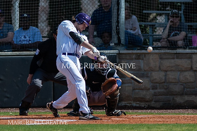 Broughton varsity baseball vs Heritage. March 29, 2019. MRC_5495