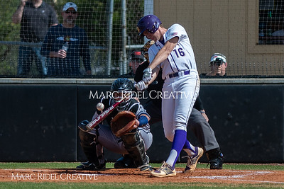 Broughton varsity baseball vs Heritage. March 29, 2019. MRC_5431