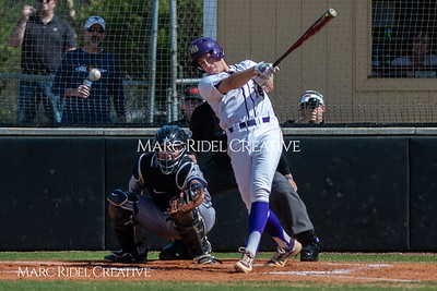 Broughton varsity baseball vs Heritage. March 29, 2019. MRC_5432
