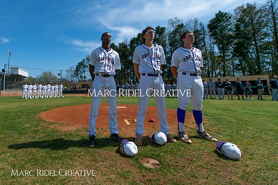 Broughton varsity baseball vs Heritage. March 29, 2019. D4S_7983