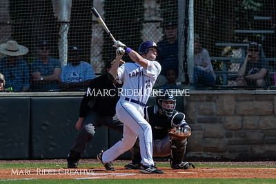 Broughton varsity baseball vs Heritage. March 29, 2019. MRC_5497