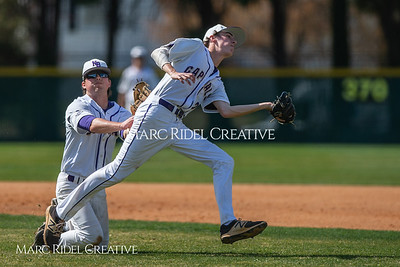 Broughton varsity baseball vs Heritage. March 29, 2019. D4S_8020