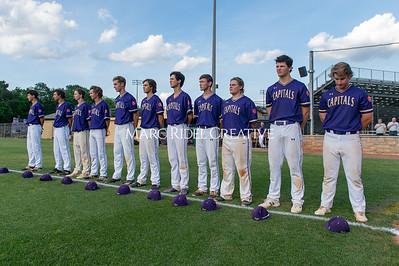 Broughton varsity baseball vs Jack Britt. NCHSAA 4A playoffs - Round 1. May, 6, 2019. D4S_1450