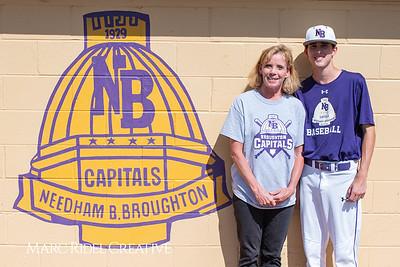 Broughton varsity baseball vs Sanderson. April 24, 2019. 750_0210