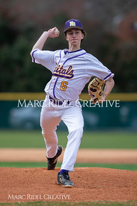 Broughton JV baseball vs Southeast Raleigh. March 18, 2019. D4S_0321