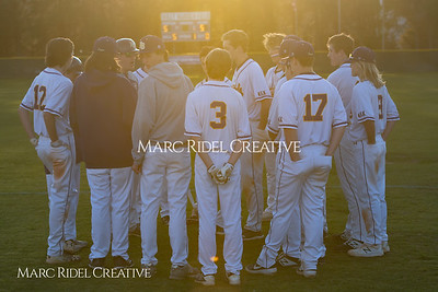 Broughton JV baseball vs Southeast Raleigh. March 18, 2019. MRC_4453