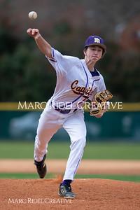 Broughton JV baseball vs Southeast Raleigh. March 18, 2019. D4S_0322