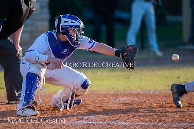 Broughton JV baseball vs Southeast Raleigh. March 18, 2019. D4S_0819