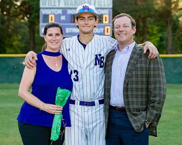 Broughton varsity baseball vs Millbrook. Senior Night. May, 2, 2019. D4S_9364