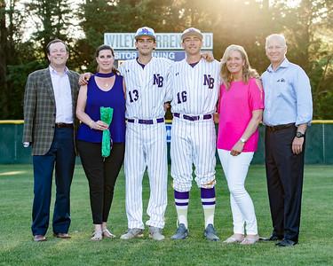 Broughton varsity baseball vs Millbrook. Senior Night. May, 2, 2019. D4S_9370