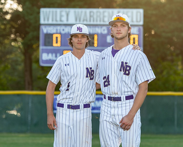 Broughton varsity baseball vs Millbrook. Senior Night. May, 2, 2019. D4S_9311