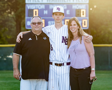 Broughton varsity baseball vs Millbrook. Senior Night. May, 2, 2019. D4S_9342