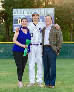 Broughton varsity baseball vs Millbrook. Senior Night. May, 2, 2019. D4S_9358
