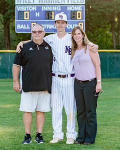 Broughton varsity baseball vs Millbrook. Senior Night. May, 2, 2019. D4S_9340