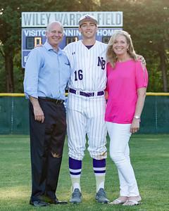 Broughton varsity baseball vs Millbrook. Senior Night. May, 2, 2019. D4S_9322