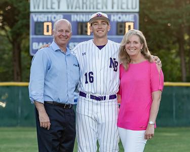 Broughton varsity baseball vs Millbrook. Senior Night. May, 2, 2019. D4S_9324