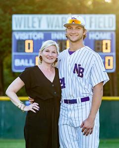 Broughton varsity baseball vs Millbrook. Senior Night. May, 2, 2019. D4S_9331