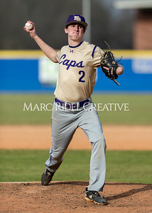 Broughton baseball vs Athens Drive. March 9, 2020. D4S_7233
