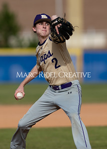 Broughton baseball vs Athens Drive. March 9, 2020. D4S_7137