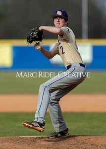 Broughton baseball vs Athens Drive. March 9, 2020. D4S_7224