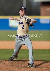 Broughton baseball vs Athens Drive. March 9, 2020. D4S_7231