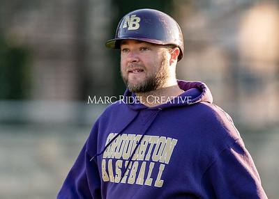 Broughton varsity baseball vs Garner. February 27, 2020. D4S_9231