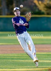 Broughton varsity baseball vs Garner. February 27, 2020. D4S_9184