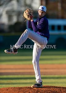 Broughton varsity baseball vs Garner. February 27, 2020. D4S_9103