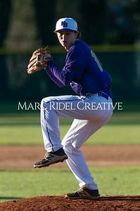 Broughton varsity baseball vs Garner. February 27, 2020. D4S_9035