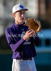 Broughton varsity baseball vs Garner. February 27, 2020. D4S_9091