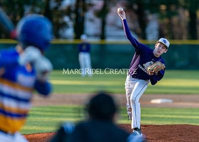 Broughton varsity baseball vs Garner. February 27, 2020. D4S_9179