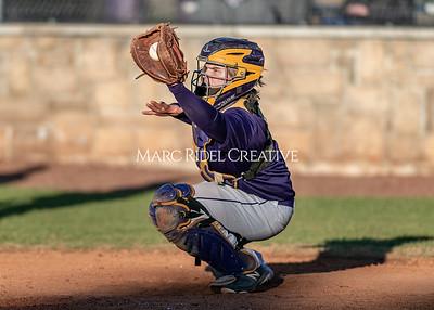 Broughton varsity baseball vs Garner. February 27, 2020. D4S_9113
