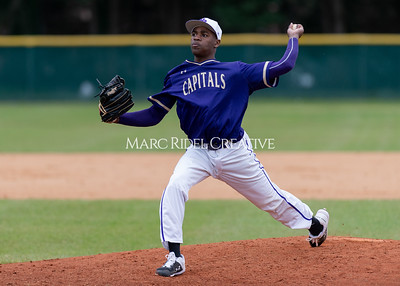 Broughton varsity baseball vs Holly Springs. March 5, 2020. D4S_2975