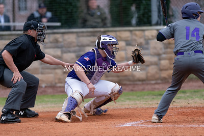 Broughton varsity baseball vs Holly Springs. March 5, 2020. D4S_2965