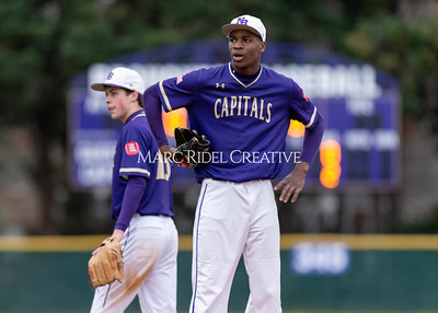 Broughton varsity baseball vs Holly Springs. March 5, 2020. D4S_2949
