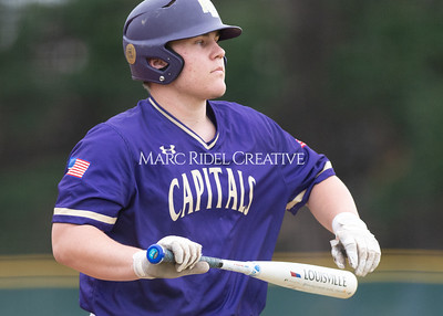 Broughton varsity baseball vs Holly Springs. March 5, 2020. D4S_2922