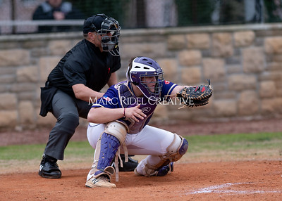 Broughton varsity baseball vs Holly Springs. March 5, 2020. D4S_2959