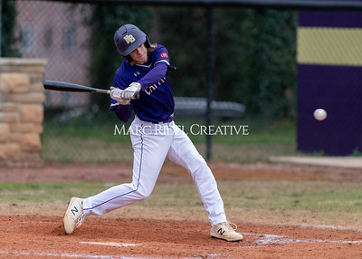 Broughton varsity baseball vs Holly Springs. March 5, 2020. D4S_3007