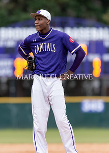 Broughton varsity baseball vs Holly Springs. March 5, 2020. D4S_2950