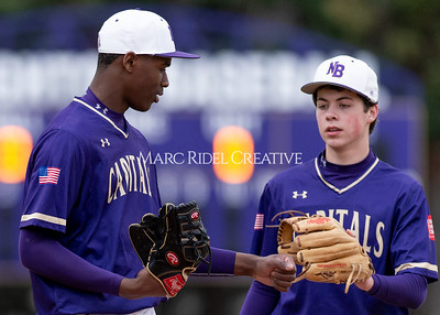 Broughton varsity baseball vs Holly Springs. March 5, 2020. D4S_2946