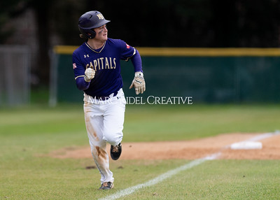 Broughton varsity baseball vs Holly Springs. March 5, 2020. D4S_2927