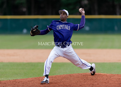 Broughton varsity baseball vs Holly Springs. March 5, 2020. D4S_2972