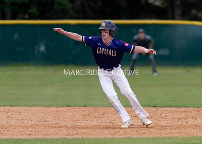 Broughton varsity baseball vs Holly Springs. March 5, 2020. D4S_3026