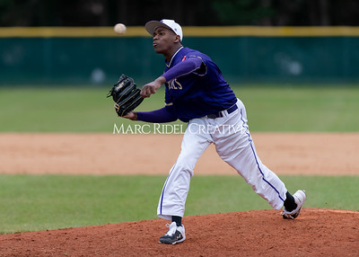 Broughton varsity baseball vs Holly Springs. March 5, 2020. D4S_2976